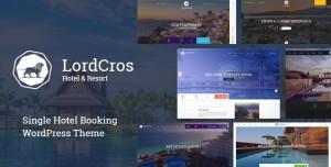LORDCROS V1.2.0 - HOTEL BOOKING WORDPRESS THEME