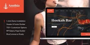 ANUBIA V1.0.3 - SMOKING AND HOOKAH BAR WORDPRESS THEME