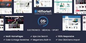 HIMARKET V1.3.7 - ELECTRONICS STORE/MEDICAL/SPORT SHOP WOOCOMMERCE WORDPRESS THEME