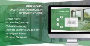 INGENIOUS V1.1.7 - SMART HOME AUTOMATION WORDPRESS THEME