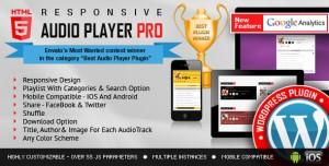 Responsive HTML5 Audio Player PRO v2.8.0