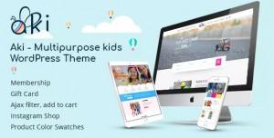 AKI V1.3.1 - MULTIPURPOSE KIDS WORDPRESS THEME