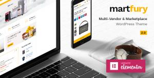MARTFURY V2.4.0 - WOOCOMMERCE MARKETPLACE THEME