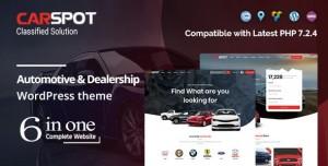 CARSPOT V2.2.5 – AUTOMOTIVE CAR DEALER WORDPRESS CLASSIFIED THEME