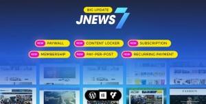 JNEWS V7.0.1 - WORDPRESS NEWSPAPER MAGAZINE BLOG AMP