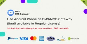 SMS Gateway - Use Your Android Phone as SMS MMS Gateway (SaaS)