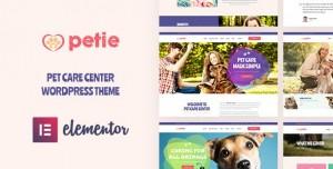 Petie - Pet Care Center & Veterinary WordPress Theme