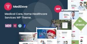 MEDIDOVE V2.1.0 - MEDICAL CARE, HOME HEALTHCARE SERVICE WP THEME + RTL