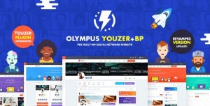 OLYMPUS V3.50 - POWERFUL BUDDYPRESS THEME FOR SOCIAL NETWORKING