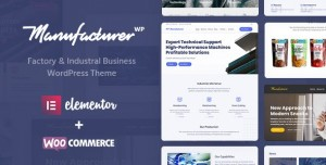 MANUFACTURER V1.3.4 - FACTORY AND INDUSTRIAL WORDPRESS THEME