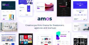 AMOS V1.6.4 - CREATIVE WORDPRESS THEME FOR AGENCIES