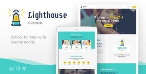 LIGHTHOUSE V1.2.3 - SCHOOL FOR HANDICAPPED KIDS WITH SPECIAL NEEDS WORDPRESS THEME