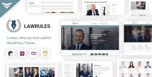 LAWRULES V1.3 - LAWYER WORDPRESS THEME