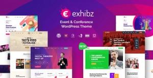EXHIBZ V2.3.0 - EVENT CONFERENCE WORDPRESS THEME