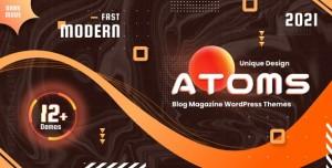 ATOMS V1.3 - WORDPRESS MAGAZINE AND BLOG THEME