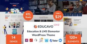 EDUCAVO V2.7.4 - ONLINE COURSES & EDUCATION WORDPRESS THEME