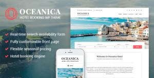 OCEANICA V2.0.2 - HOTEL BOOKING WORDPRESS THEME