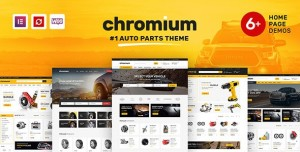 CHROMIUM V1.3.25 - AUTO PARTS SHOP WORDPRESS THEME / By themelock - June 29, 2021 / Views: 346