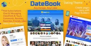 DATEBOOK V4.5.9 - DATING WORDPRESS THEME
