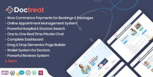 DOCTREAT V1.4.0 - DOCTORS DIRECTORY WORDPRESS THEME