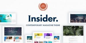 INSIDER V1.5 - CONTEMPORARY MAGAZINE AND BLOGGING THEME