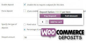 WooCommerce Deposits v2.5.3.6 - Partial Payments Plugin