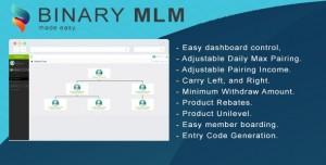 Binary MLM  PHP Scripts