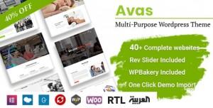 AVAS V6.2.5 - MULTI-PURPOSE WORDPRESS THEME