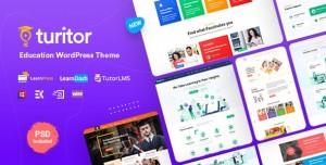 TURITOR V1.3.9 - LMS & EDUCATION WORDPRESS THEME