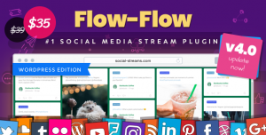 Flow-Flow v4.1.32 - WordPress Social Stream Plugin
