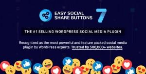 Easy Social Share Buttons for WordPress v7.2