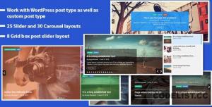Responsive Recent Post Slider Pro plugin for WordPress v1.4.1