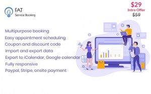 Fat Services Booking v2.2 - Automated Booking and Online Scheduling