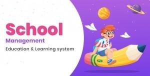 School Management v5.8 - Education & Learning Management system for WordPress