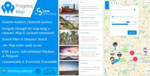 Progress Map Wordpress Plugin v5.5.1