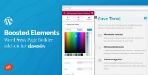 Boosted Elements v3.4 - Builder Add-on for Elementor