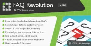 FAQ Revolution v1.04 - WordPress Plugin