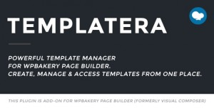 Templatera v2.0.4 - Template Manager for WPBakery Page Builder