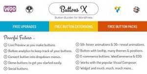 Buttons X v1.9.72 - Powerful Button Builder for WordPress