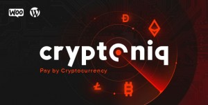 Cryptoniq v1.7.2 - Cryptocurrency Payment Plugin for WordPress