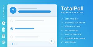 TotalPoll Pro v4.1.5 - WordPress Poll Plugin