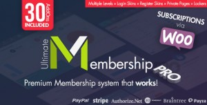 Ultimate Membership Pro WordPress Plugin v8.8.0