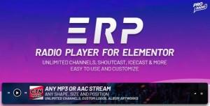 Erplayer v1.0.4 - Radio Player for Elementor