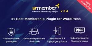 ARMember v3.5 - WordPress Membership Plugin