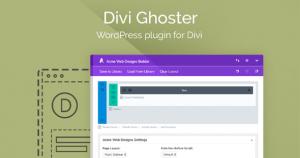 Divi Ghoster v5.0.1 - WordPress Plugin For Divi