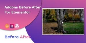 Before After Image Slider Elementor Addon v1.0