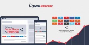 Social Warfare Pro v4.1.0 - Best Social Sharing for Wordpress