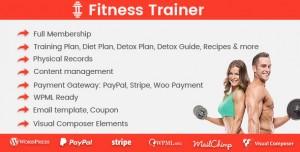 Fitness Trainer v1.3.8 - Training Membership Plugin