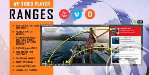 RANGES v1.0.0 - Video Player With Multiple Start and End Points - WordPress Plugin