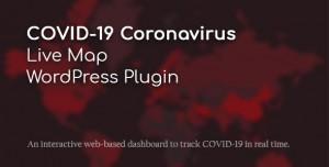 COVID-19 Coronavirus v2.1.3 - Live Map WordPress Plugin